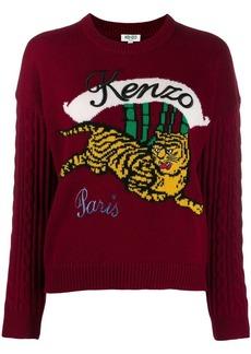 Kenzo running tiger sweater