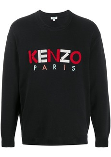 Kenzo embroidered logo knitted jumper