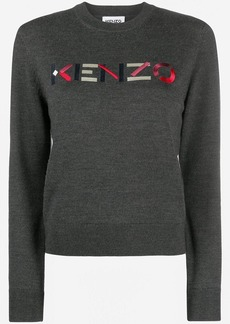 Kenzo embroidered logo pullover