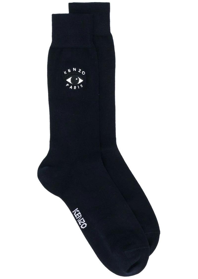Kenzo embroidered logo socks