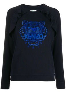 Kenzo embroidered logo top