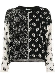 Kenzo embroidered long-sleeve jumper