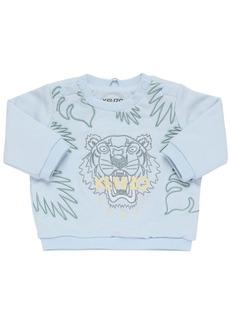 Kenzo Embroidered Organic Cotton Sweatshirt