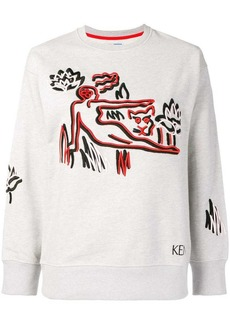 Kenzo embroidered sweater