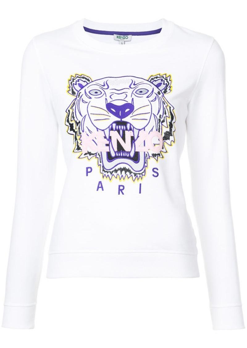 3e38525c embroidered Tiger sweatshirt