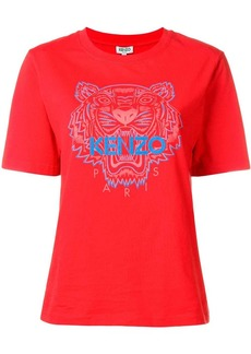 Kenzo embroidered Tiger T-shirt