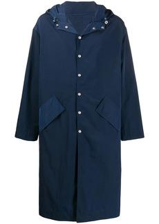 Kenzo embroidered twill raincoat