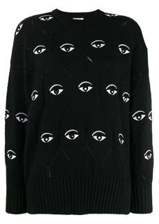 Kenzo Eye embroidered jumper