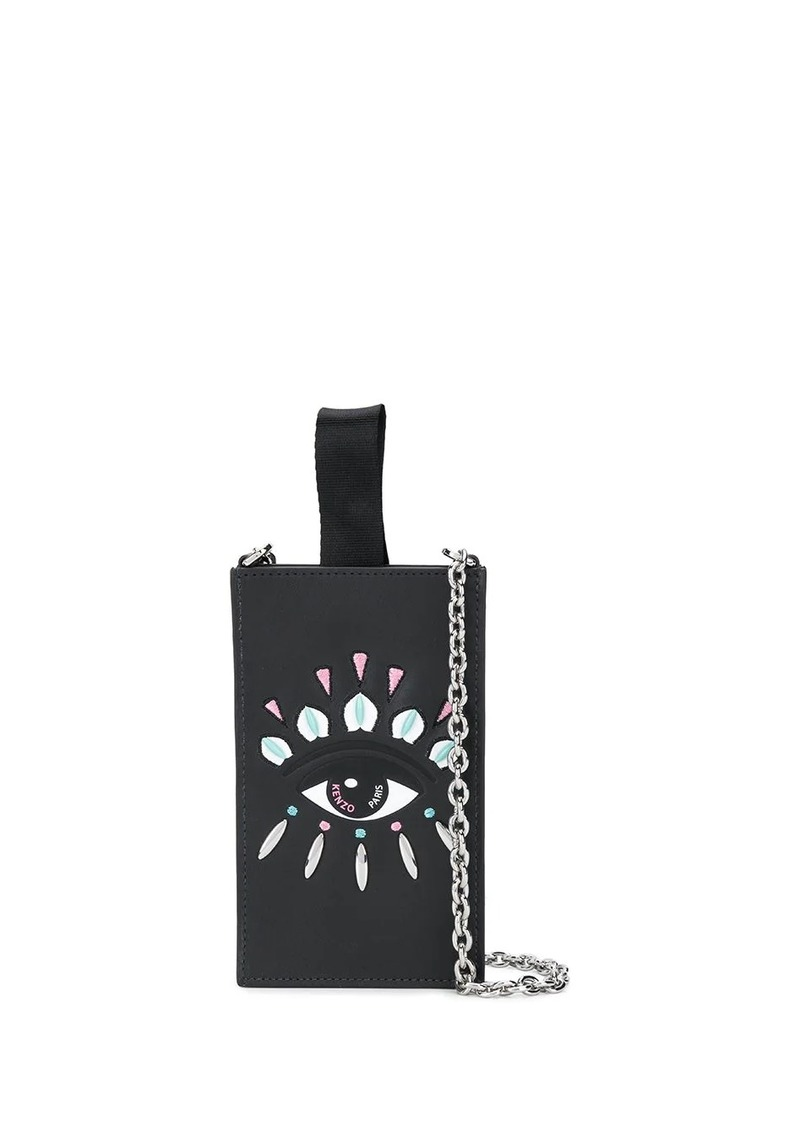 Kenzo Eye leather case bag