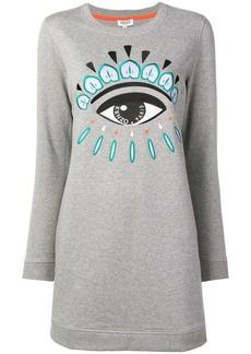 Kenzo Eye motif dress