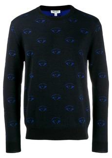 Kenzo eye pattern jumper