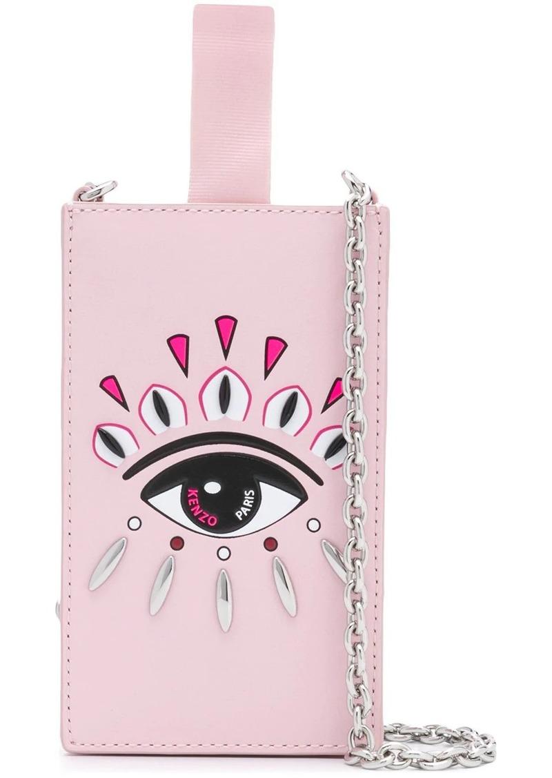 Kenzo Eye phone case with chain