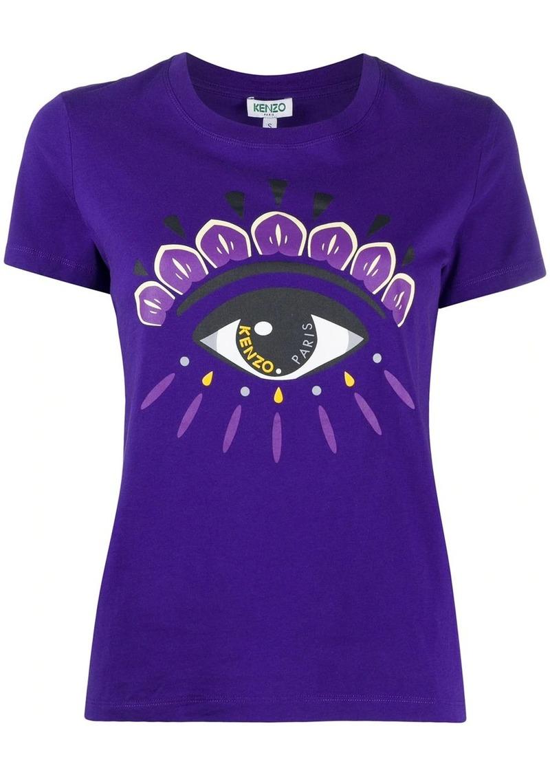 Kenzo Eye-print cotton T-shirt