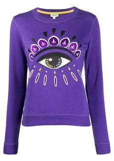 Kenzo Eye print crew neck sweatshirt