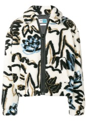 Kenzo faux fur printed jacket