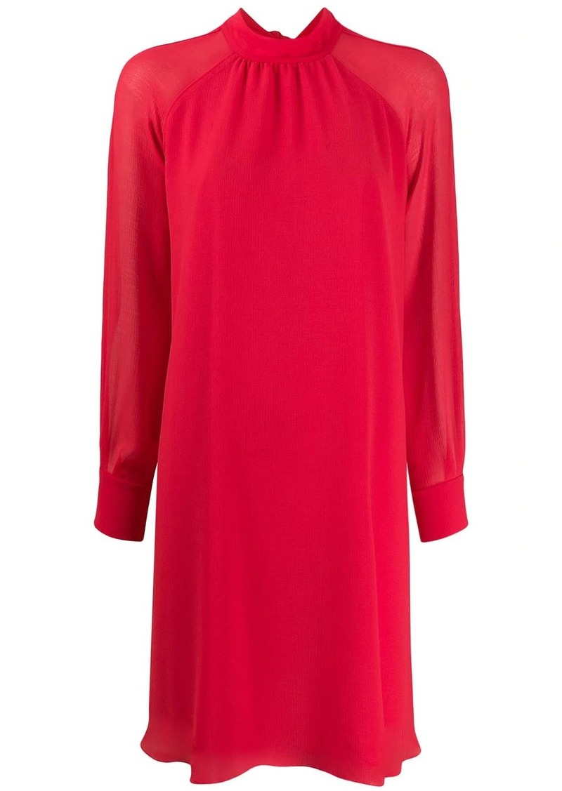 Kenzo flared long-sleeved dress