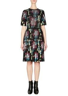 Kenzo Floral Crewneck Dress