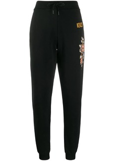 Kenzo floral embroidered track trousers