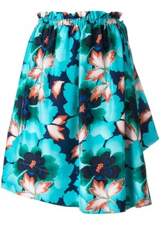 Kenzo floral flared mini skirt