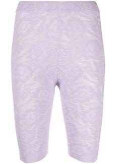 Kenzo floral-jacquard cycling shorts