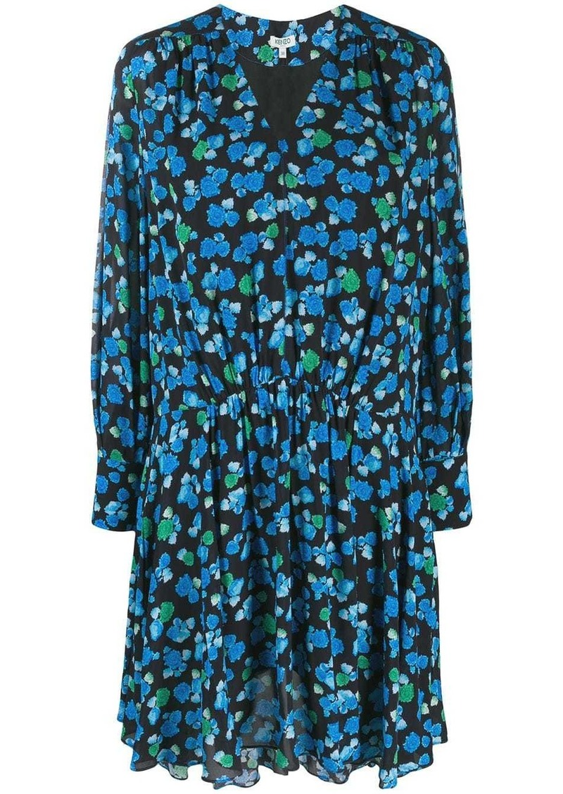 Kenzo floral-print dress