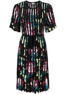 Kenzo floral print pleated dress