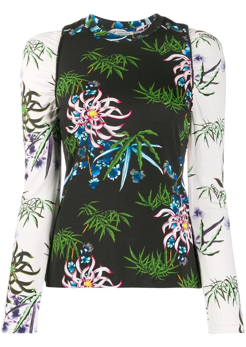 Kenzo floral print top