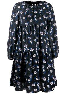 Kenzo floral smock dress