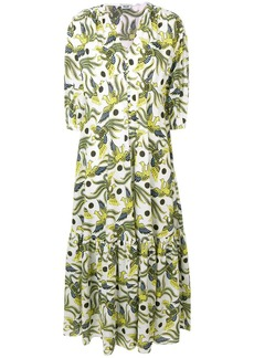 Kenzo Flying Phoenix maxi dress