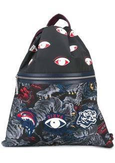 Kenzo 'Flying Tiger' drawstring backpack