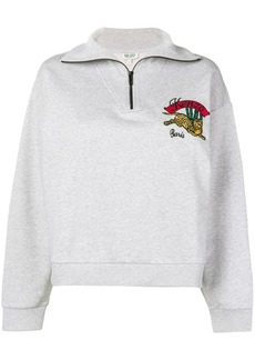 Kenzo Flying Tiger embroidered sweatshirt