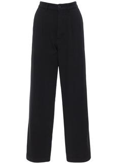 Kenzo Garment Dyed Cotton Drill Chino Pants