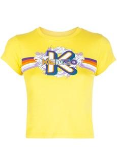 Kenzo graphic-logo print T-shirt