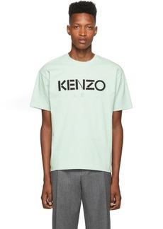 Kenzo Green Cotton Jersey Skate T-Shirt