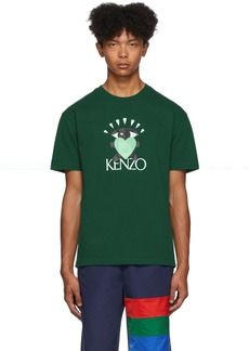 Kenzo Green Limited Edition Cupid T-Shirt