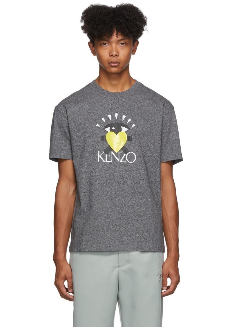 Kenzo Grey Limited Edition Cupid T-Shirt