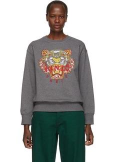 Kenzo Grey Limited Edition Dragon Tiger Sweatshirt