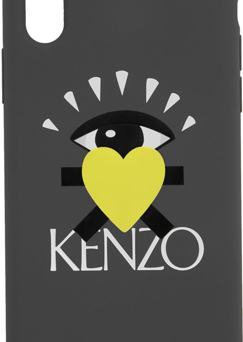 Kenzo Grey Limited Edition Eye iPhone X Case