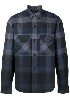 Kenzo gradient-check long-sleeve shirt