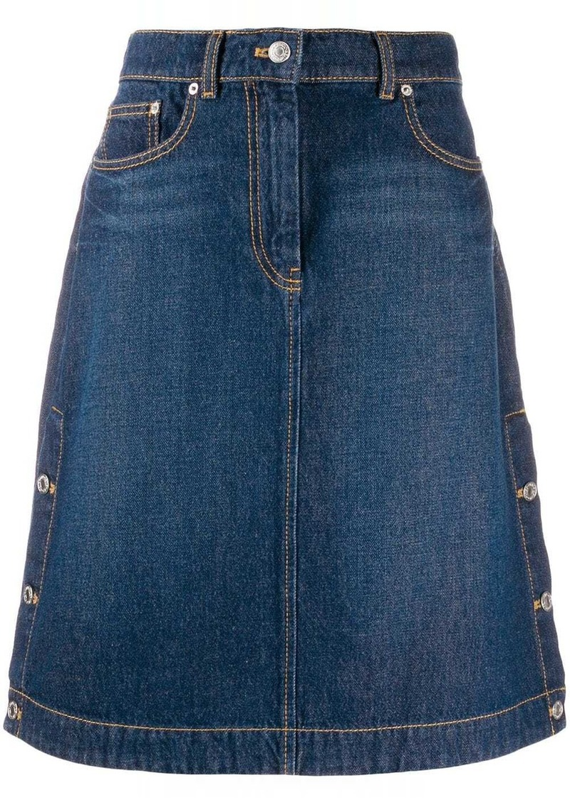 Kenzo high-rise denim skirt