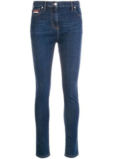 Kenzo high rise skinny jeans