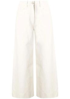 Kenzo high-rise wide-leg jeans