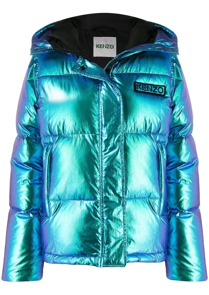 Kenzo Holiday Capsule hooded puffer jacket