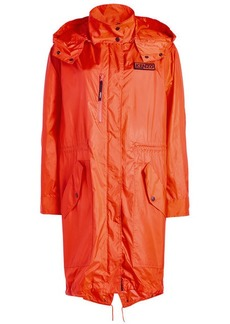 Kenzo Hooded Rain Coat