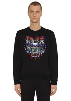 Kenzo Icon Embroidered Crewneck Sweater