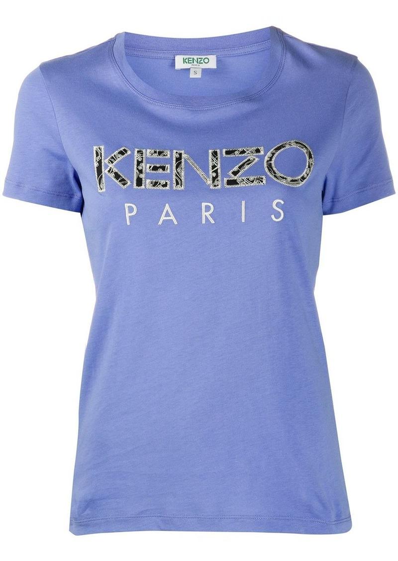 Kenzo Ikat-print cotton T-shirt