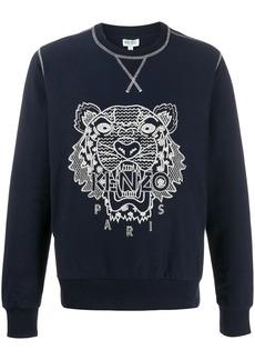 Kenzo Ikat tiger logo sweatshirt