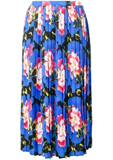 Kenzo Indonesia Flower pleated skirt