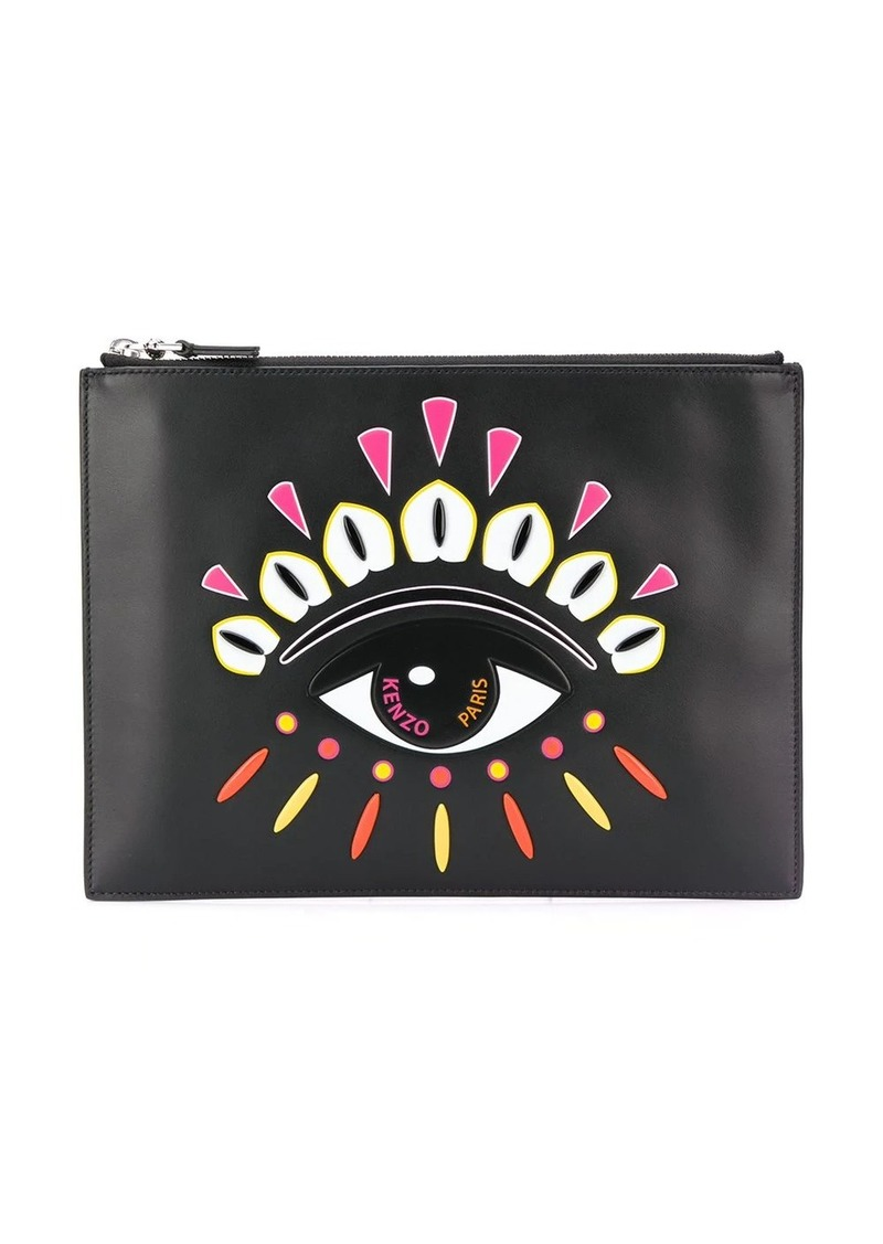 Kenzo Indonesian Flower Eye clutch