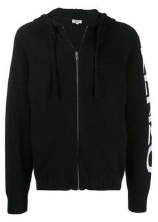Kenzo intarsia knit logo hoodie
